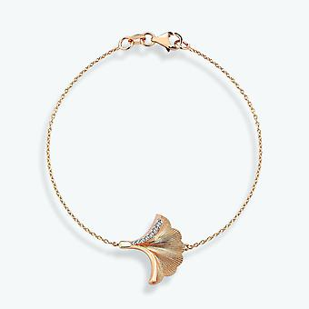 Diamant armbånd- Ginkgo