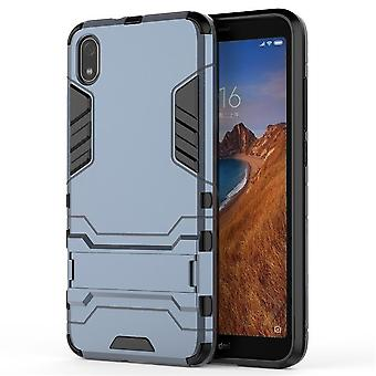 Shockproof case for xiaomi cc9/a3 lite with kickstand blue pc5102