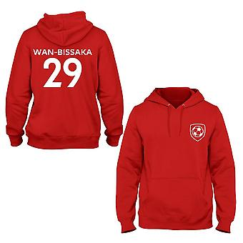 Aaron wan-bissaka 29 manchester united style player hoodie
