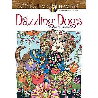Refúgio criativo deslumbrante cães livro para colorir