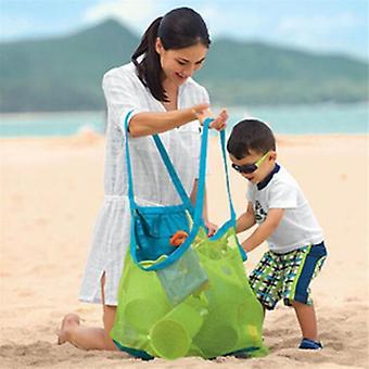 Hot Mom Baby Beach Bags, Women Kids Mesh Messenger Toy, Armazenamento de ferramentas, Bolsa