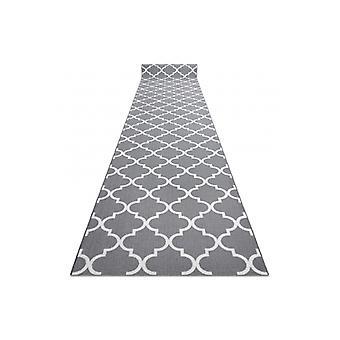 Runner anti-slip TRELLIS 100 cm grey 30352