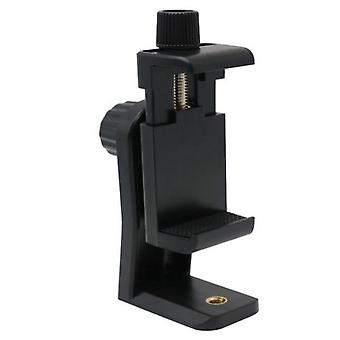 Phone Tripod Mount Adapter Clip Support Holder Stand