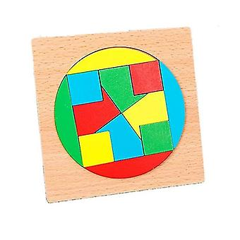 Puzzle-Spiel kreisförmige mosaik dt7574