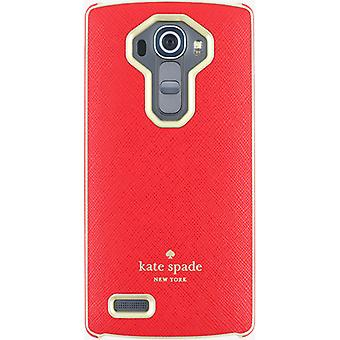 Kate Spade Wrap Case for LG G4 - Red/Gold