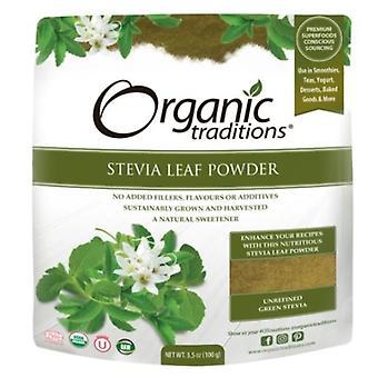 Organic Traditions Organic Green Leaf Stevia Powder, 3.5 Oz
