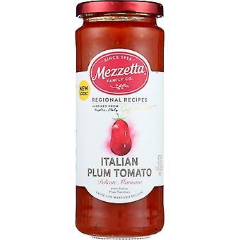 Mezzetta Sauce Mrnra Ital Plum Tom, Case of 6 X 16.25 Oz