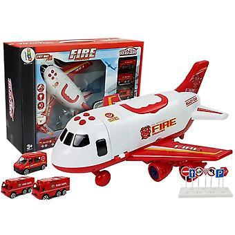 Avion de stingere a incendiilor cu încărcătură – 1:64 – Roșu