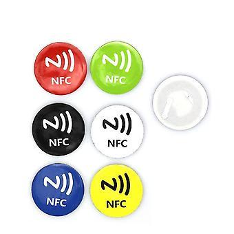 Anti Metal Rfid Adhesive Label Sticker Universal Metallic Lable Ntag213 Tag