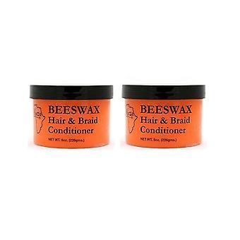 Kuza Beeswax Hair & Braid Conditioner 8Oz