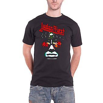 Judas Priest T Shirt Hell Bent Album Cover Band Logo Official Mens New Black