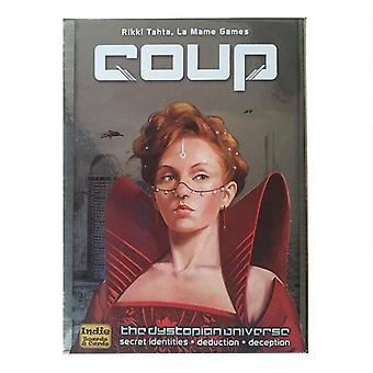 التارو بطاقة سطح السفينة إيندي لوحات وبطاقات الانقلاب لعبة حزب الأسرة بطاقة Dystopian