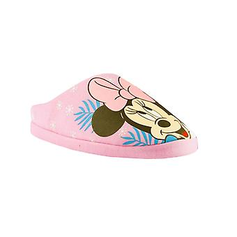 Minnie Mouse Girls Spring Palms Polyester Slippers