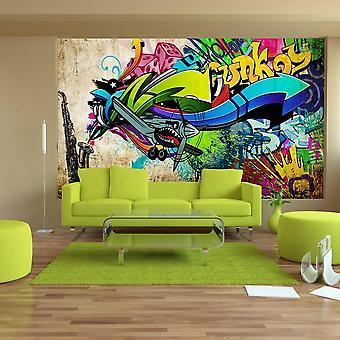 Behang graffiti street art - Funky - graffiti