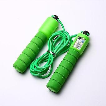 Jump Ropes avec Counter Fitness Jump Skip (vert)