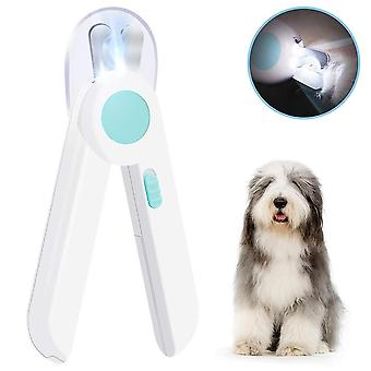 Dog Cat Nail Clippers And Trimmer, Pet Nail Clippers With Led Light