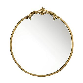 Miroir mural Accent Plus avec cadre en or et Fleur de Lis, Pack de 1