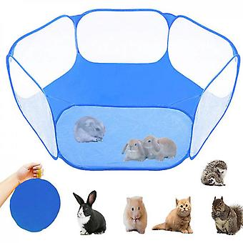 Small Animal Cage Tent Portable Garden Sports Fence