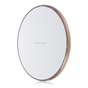 Power adapter charger accessories 10w qi wireless charger fast charging pad for samsung for iphone xiaomi huawei 03 color