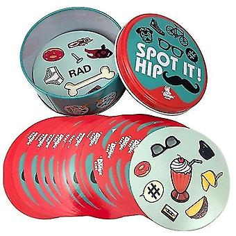 8+ Dobble spot to karetní hra se zvířaty, abecedami a čísly(B)