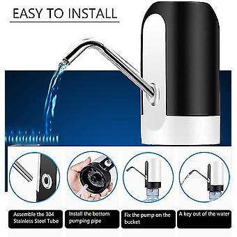 Pompe à eau électrique bouton automatique distributeur tactile contrôle gallon bouteille interrupteur à boire usb