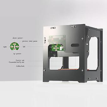 Neje Dk-8-kz 1000mw מיני לייזר תחריט מכונת Diy מדפסת הבית של ציוד