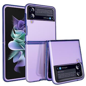 مناسبة لسامسونج غالاكسي Z فليب 3 5g الكمبيوتر حالة الهاتف / متعددة الألوان غير لامع حالة الهاتف