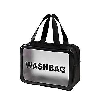 Klare Toilettenartikel Tasche, wasserdichte Toilettenartikel Reisetasche Klare PVC Reisetasche Waschbeutel