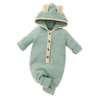Nou-născut Baby Salopeta cu maneca lunga Romper Playuit