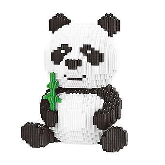 ミニブロッククリエイターDIYの貴重なパンダのビルディングブロック教育動物モデル3689pcs子供のためのおもちゃ