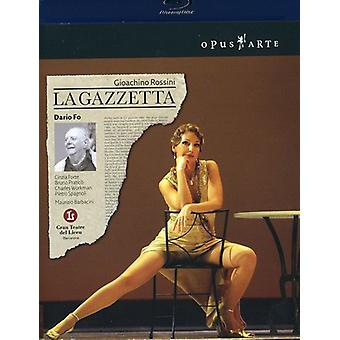 G. Rossini - La Gazzetta [BLU-RAY] USA import