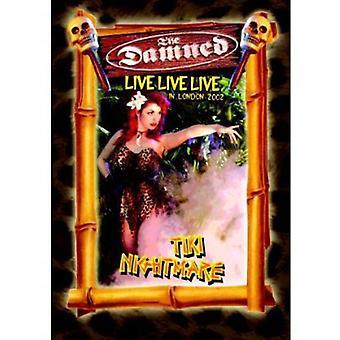 Damned - Live Live Live: Tikinightmare [DVD] USA import