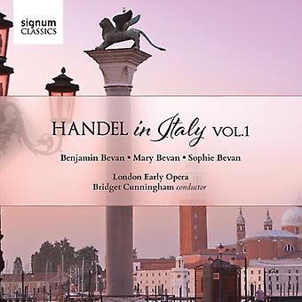 Handel / London Early Opera / Cunningham - Handel in Italy 1 [CD] USA import