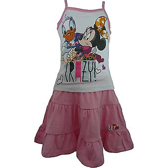 Ragazze Disney Minnie Mouse & Daisy t-shirt senza maniche e gonna Set