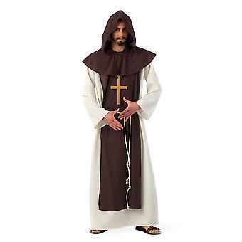 Moine cistercien Monsieur costume moine robe costume abbé mens
