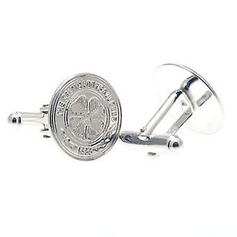 Celtic Sterling Silver Cufflinks