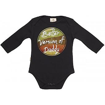 Spoilt Rotten Better Version Of Daddy Baby Grow 100% Organic In Milk Carton