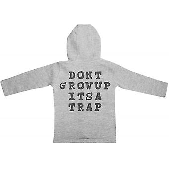 Spoilt Rotten Don't Grow Up It's A Trap Baby Hoodie