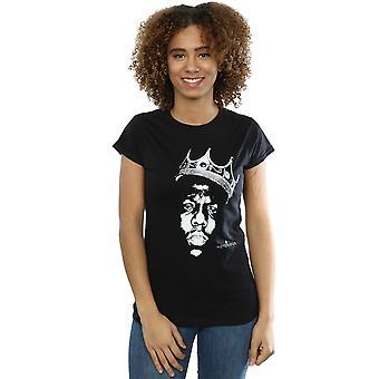Notorious BIG Women's Biggie Crown Face T-Shirt
