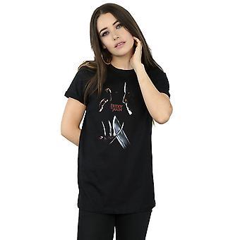 A Nightmare On Elm Street Women's Freddy Vs Jason Boyfriend Fit T-Shirt