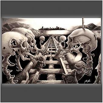 Terror Rail Poster Poster Print by Alex Reiter Mindfeed