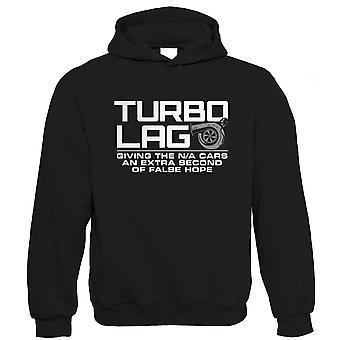 Turbo Лаг Мужчины Смешные автомобиль Hoodie