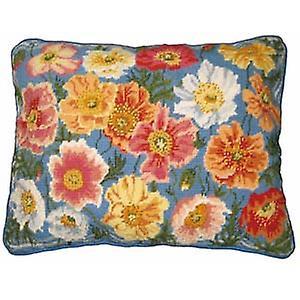 Garden Poppies Needlepoint Kit