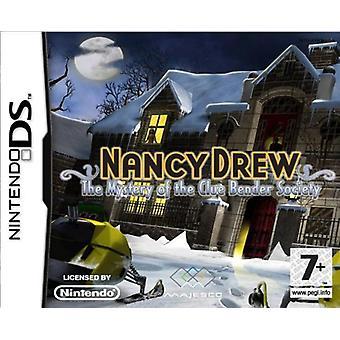 Nancy Drew-mysteriet om Clue Bender Society (Nintendo DS)-ny
