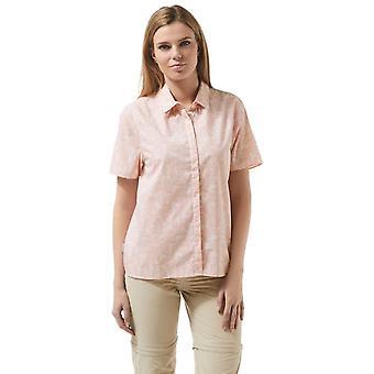 Craghoppers Damen/Damen Silla Short Sleeve leichtes Sommershirt