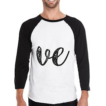 Love Heart Mens Baseball Tee Unique Family Matching Clothes Gifts
