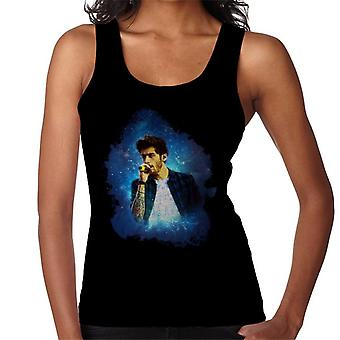 Zayn Malik Of One Direction Murrayfield Stadium 2014 Women's Vest