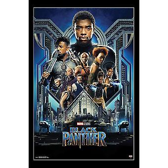 Black Panther - Group One Sheet Poster Print
