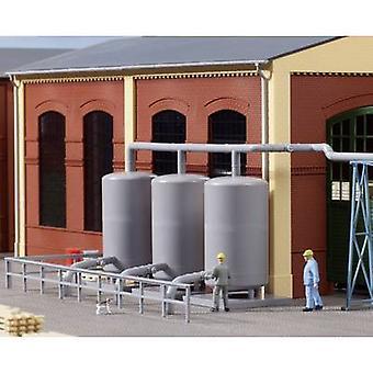 Auhagen 80111 H0 3-pc set steam storage tank Assembly kit