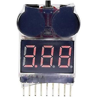Reely LiPo kontrolløren egnet for batterier: 2-8 1 eller flere PCer
